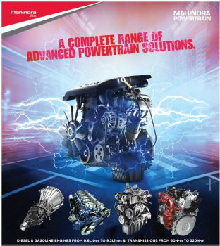 Mahindra Powertrain range of engines
